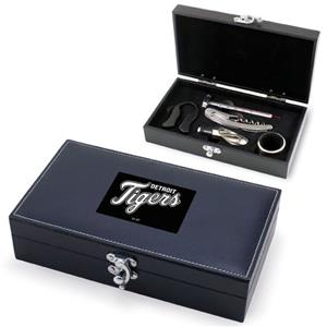 Picnic Time MLB Detroit Tigers Syrah Wine Box Set
