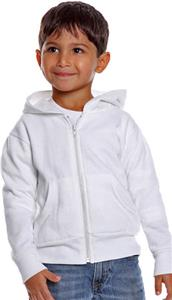 Royal Apparel Toddler Zip Fleece Hooded Jacket