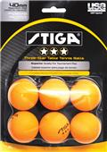 Escalade Sports Stiga 3-Star Table Tennis Balls