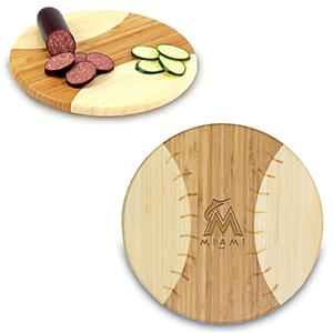 Picnic Time MLB Miami Marlins Cutting Board