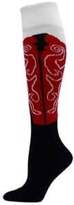 Red Lion The Western Boot Flat Knit Socks
