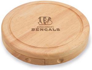Picnic Time NFL Cincinnati Bengals Brie Board
