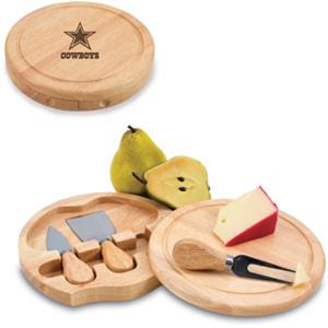 Picnic Time NFL Dallas Cowboys Brie Board