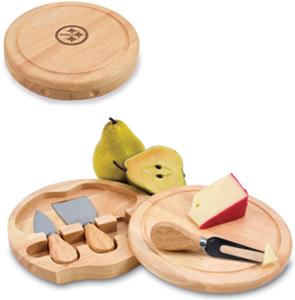 Picnic Time NFL Pittsburgh Steelers Brie Board