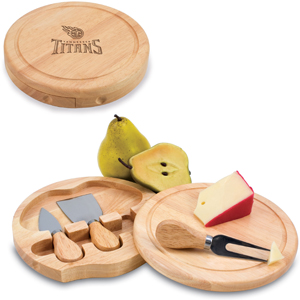 Picnic Time NFL Tennessee Titans Brie Board