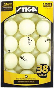 Escalade Sports Stiga 1-Star Table Tennis Balls-38