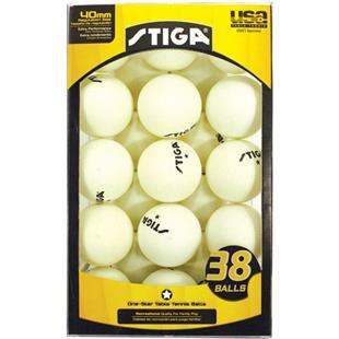 Escalade Sports Stiga 1-Star Table Tennis Balls-38
