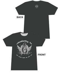 50/50 Soccer Skull City FC soccer tshirt gifts