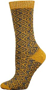 E. G. Smith Recycled French Tapestry Crew Socks
