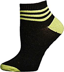 E. G. Smith Recycled Three Stripe Shortie Socks