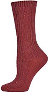 E. G. Smith Organic Fishermans Rib Crew Socks