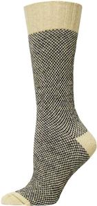 E. G. Smith Womens Hemp Rustic Birdseye Boot Sock