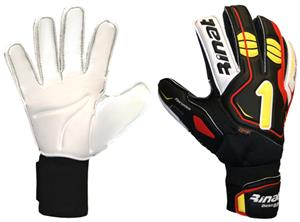 Rinat Extra Safe Black/Red Soccer Goalie Gloves