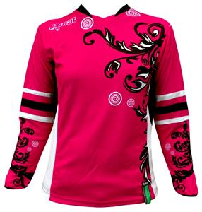 Rinat Women Frida Fuchsia Soccer Goalkeeper Jersey