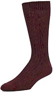 E. G. Smith Mens Organic Fishermans Rib Crew Socks
