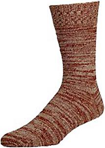 E. G. Smith Mens Recycled Marled Boot Sock
