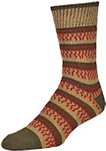 E. G. Smith Men Recycled Fringe Benefits Crew Sock