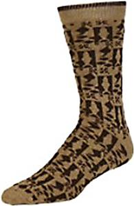 E. G. Smith Mens Recycled Country Fish Crew Socks