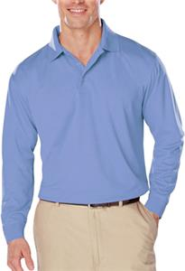 Blue Generation LS Snag Resist Wicking Polo Shirt
