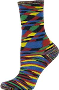 Nouvella Womens Space Dyed Shortie Socks