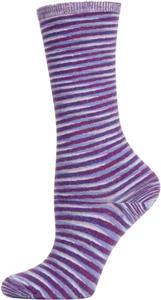 Nouvella Womens Space Dyed Crew Socks