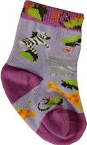 Nouvella Zebra Baby Socks