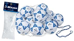 Mikasa Polyester Corded Net Soccer Ball Bags