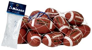 Mikasa Polyester Corded Net Football Bags