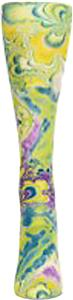Nouvella Lime Swirl Snapshot Trouser Socks