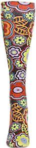 Nouvella Neon Flowers Snapshot Trouser Socks