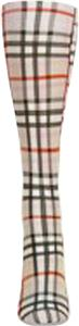 Nouvella Womens Plaid Snapshot Trouser Socks