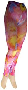 Nouvella Candy Tuff Sublimated Footless Tights