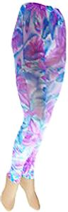Nouvella Water Colors Sublimated Footless Tights