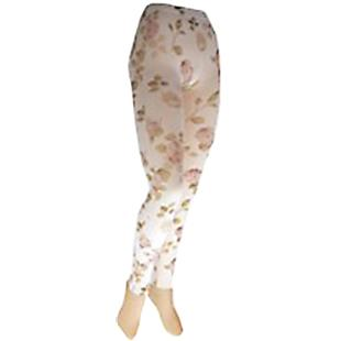 Nouvella Cherry Blossom Sublimated Footless Tights