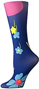 Nouvella Flower Power Sublimated Trouser Socks