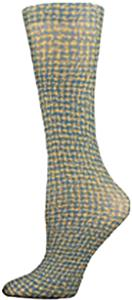 Nouvella Blue Pucci Sublimated Trouser Socks