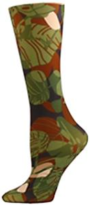Nouvella Green Jungle Sublimated Trouser Socks