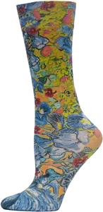 Nouvella Womens Iris Sublimated Trouser Socks