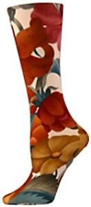 Nouvella Tropical Flowers Sublimated Trouser Socks