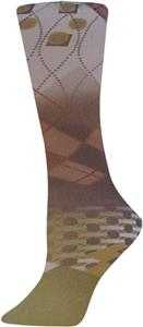 Nouvella Olive Harlequin Sublimated Trouser Socks