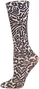 Nouvella Animal In Black Sublimated Trouser Socks