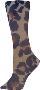 Nouvella Animal In Tan Sublimated Trouser Socks