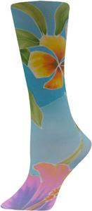 Nouvella Womens Maui Sublimated Trouser Socks