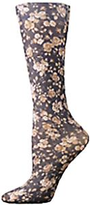 Nouvella Rose Floral Sublimated Trouser Socks