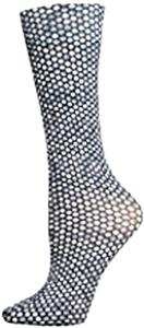 Nouvella Black Bubbles Sublimated Trouser Socks