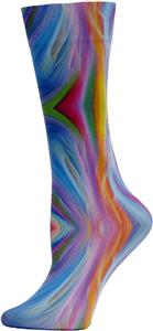 Nouvella Womens Rainbow Sublimated Trouser Socks