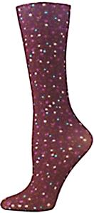 Nouvella Floral Tapestry Sublimated Trouser Socks