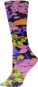 Nouvella Pink Petals Sublimated Trouser Socks