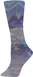 Nouvella Aztec Blue Sublimated Trouser Socks