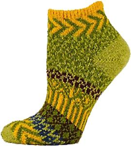 QT Feet Womens Recycled Sunrise Shortie Socks